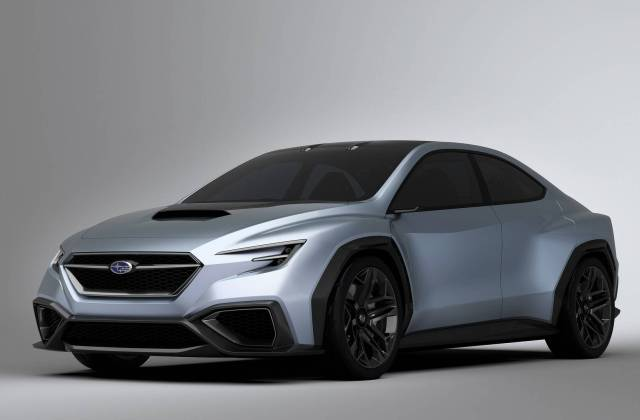 Subaru Viziv 2018 Motavera Com Concept Electric Vehicle - Medium