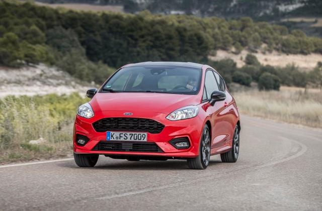 Ford Fiesta St Line Review Hatchback Has Arrived And It Photo Hot Magenta - Medium