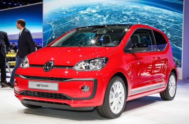 Vw Up Gets A Facelift Striking New Looks Help The City Car - Medium