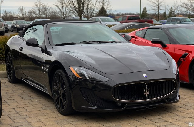 Maserati Grancabrio Sport 2013 28 March 2019 Autogespot - Medium