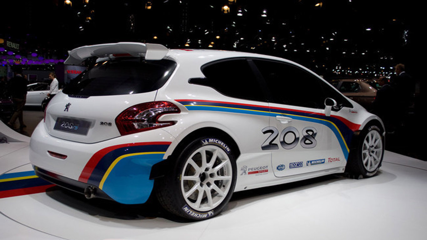 Peugeot 208 Type R5 Will Ship In The Second Half Of 2013 - Medium