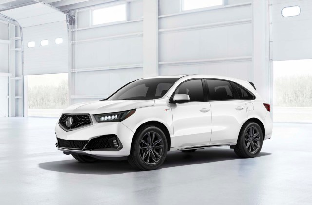 2019 Acura Mdx Review Ratings Specs Prices And Photos 2014 Cargo Space - Medium