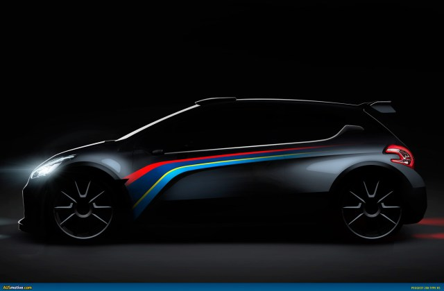 Ausmotive com peugeot teases 208 type r5 concept - medium