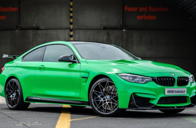 Bmw M Colours Vol 5 The M4 In Signal Green And Purple Sporty Gold Mags 2017 Wallpaper - Medium