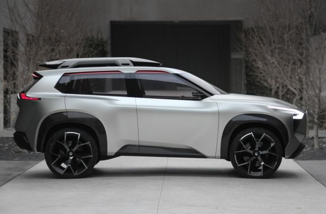 The Nissan Xmotion Suv Is More Screen Than Car Verge - Medium