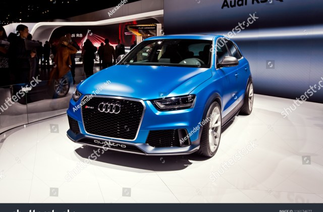 Moscowseptember 9 Audi Rs Q3 Concept Stock Photo Edit Now - Medium