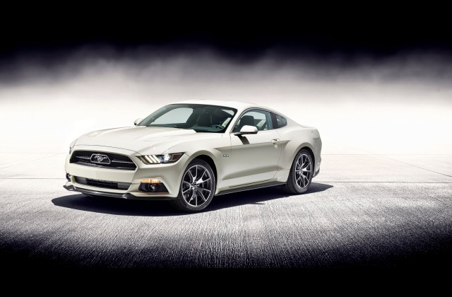 2015 Ford Mustang Gt Fastback 50 Year Limited Edition Hd Wallpaper - Medium