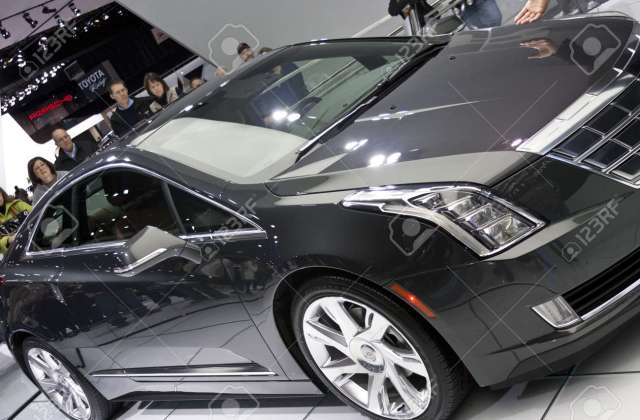 Detroit January 27 The New 2014 Cadillac Elr Electric Hybrid Who Is Guy In Commercial - Medium