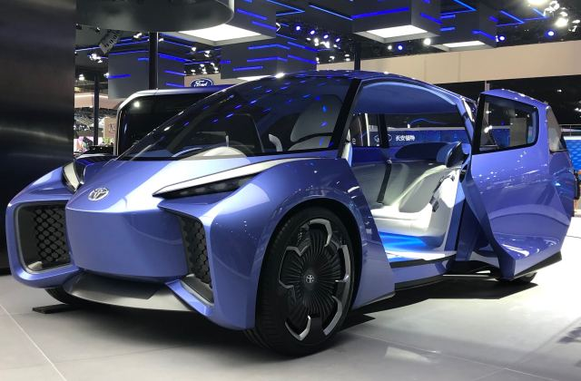 Toyota Shows Off Electric Vehicle Concept Rhombus - Medium