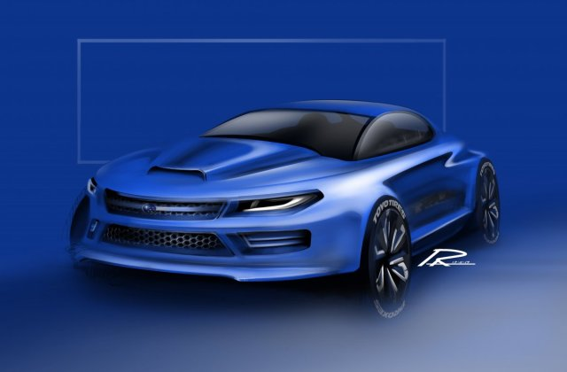 Subaru Wrx Concept Raweebkn Draw To Drive - Medium
