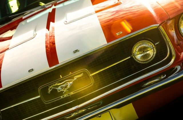 Ford Mustang Fastback 1967 Rojo Fondo De Pantalla 4k Ultra Hd Wallpaper - Medium