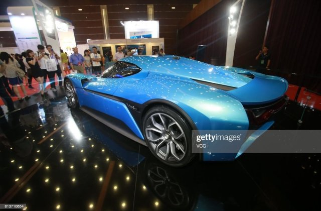 The Nio Ep9 Self Driving Concept Electric Vehicle Is - Medium