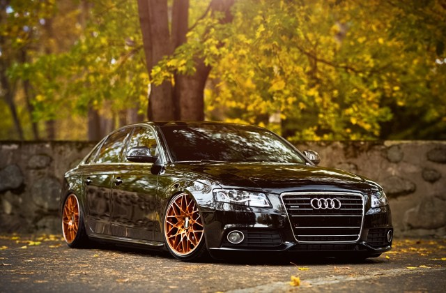 Car Audi A4 Stance Wallpapers Hd Desktop And Wallpaper Of - Medium
