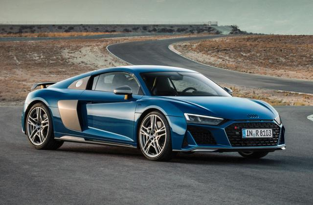 2019 Audi R8 Revealed With Tweaked Design And More Power - Medium