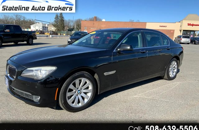used 2011 bmw 7 series 4dr sdn 750i xdrive awd for sale in photos - medium