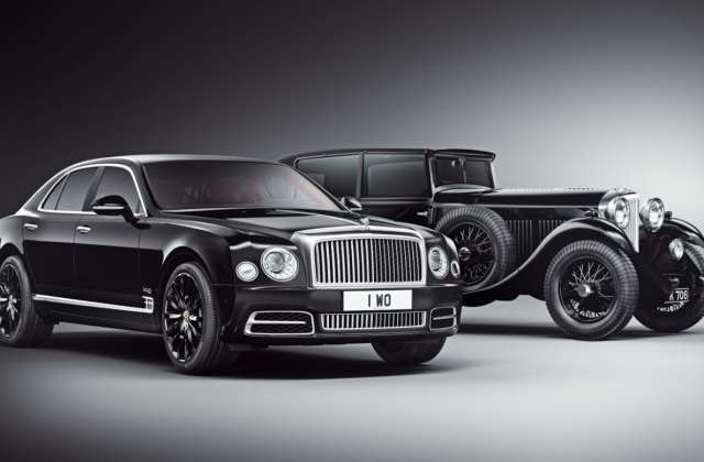 Bentley Mulsanne W O Edition By Mulliner Limited To 100 Wallpaper - Medium