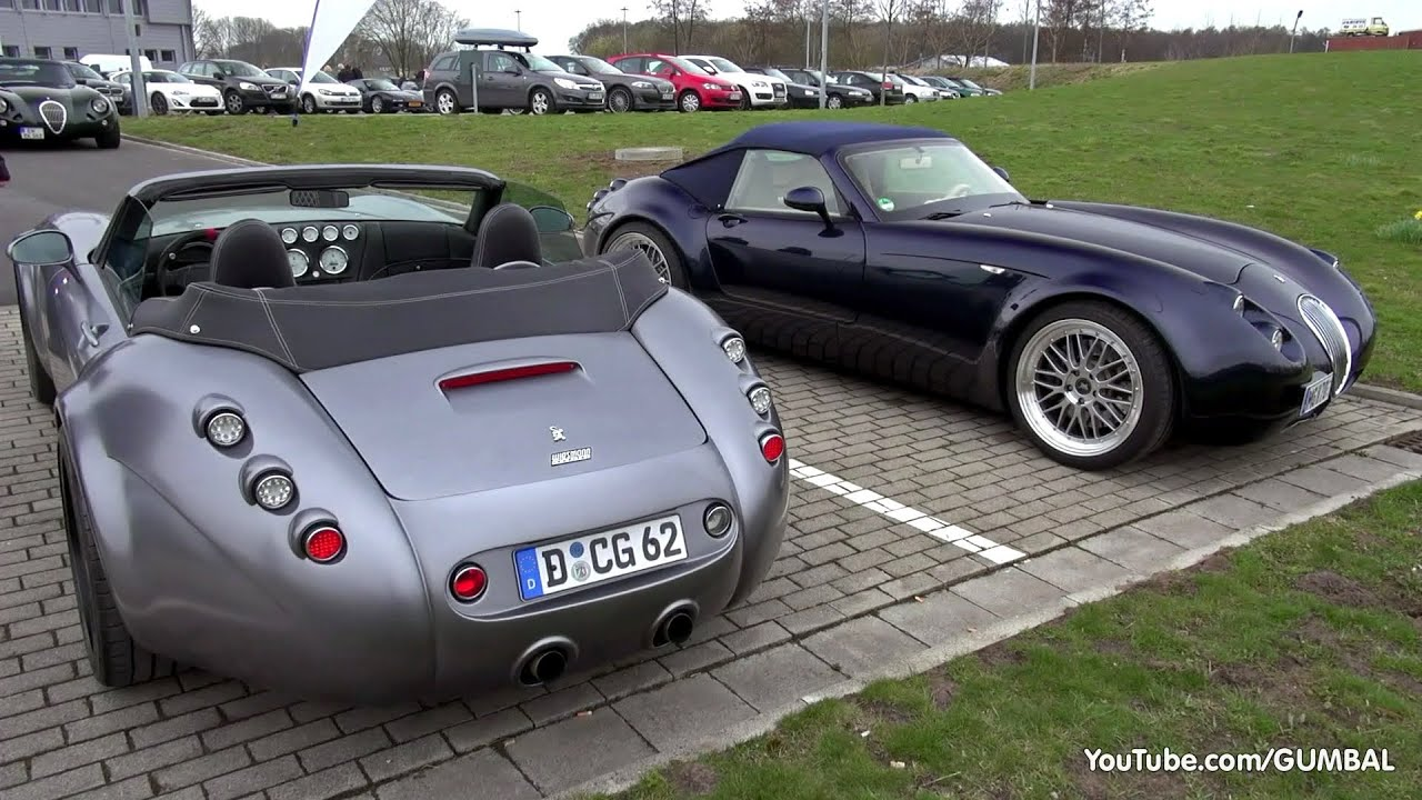 Wiesmann Mf4 S Roadster Driving Sounds Gt And - Medium