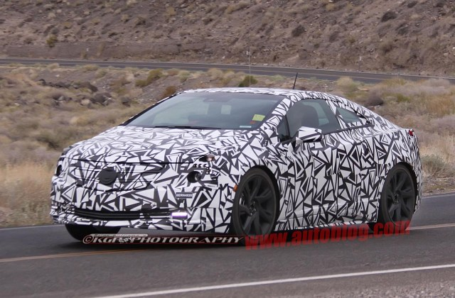 Cadillac Elr Caught Testing In Production Form Autoblog Buy - Medium