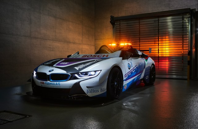 bmw i8 roadster is the new formula e safety car features - medium