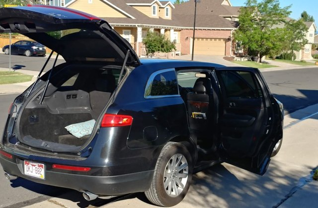 denver airport to from castle rock transportation limo acura - medium