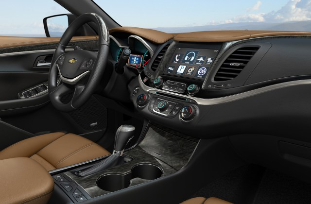 2014 chevrolet impala specifications announced photo of - medium