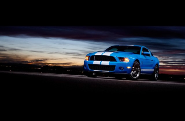 Ford Shelby Gt500 Front 4 Wallpapers Mustang Wallpaper Htc - Medium