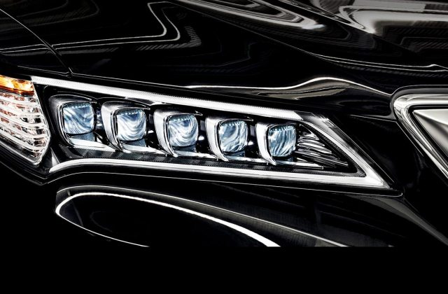 Tlx Jewel Headlights Noteworthy Addition To The 2017 Model 2015 Acura Tl Redesign - Medium