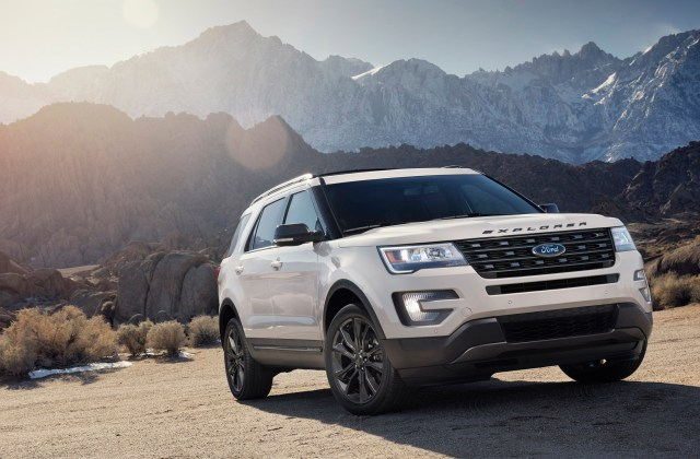 2017 Ford Explorer Xlt Appearance Package Wallpaper Hd 2014 - Medium