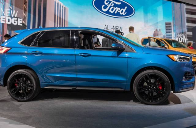 ford refreshes 2019 edge launches 335 hp st model new wallpaper - medium