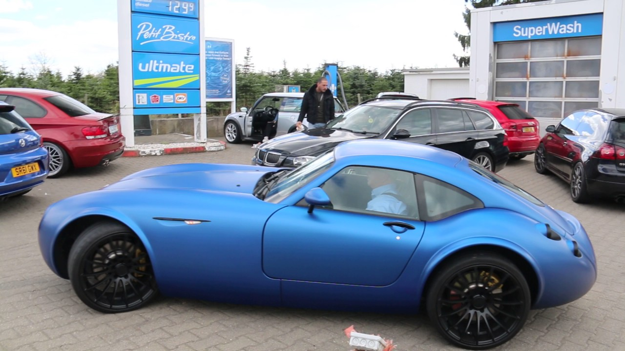 Startup And Acceleration Wiesmann Gt Mf4 Coup Bmw V8 Lovely Sounds S - Medium