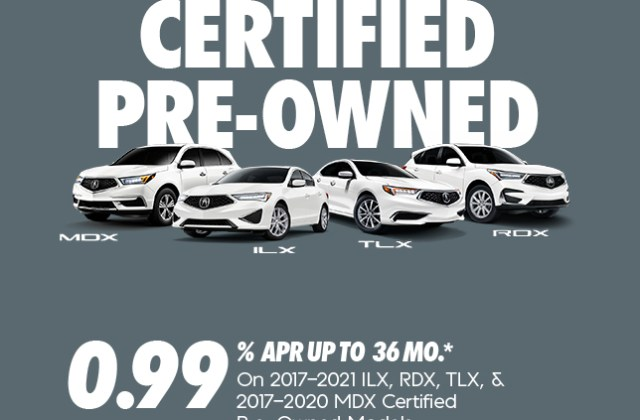 acura certified pre owned vehicles shop car models - medium