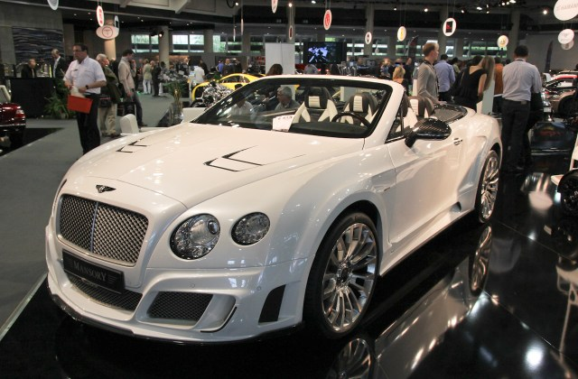 Le Mansory Gtc Ii Does It A Little Extra On Autoblog Nl 2012 Bentley Continental - Medium