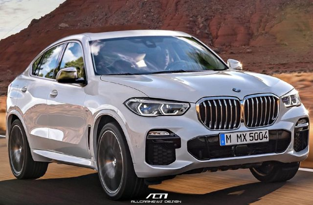 Expect The Next Bmw X6 To Look Something Like This Carbuzz Wallpaper White - Medium