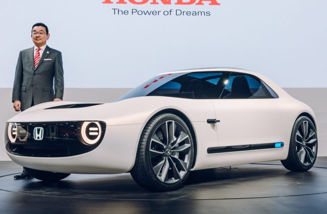Honda Unveils All Electric Sports Car Concept Based On New Vehicle - Medium