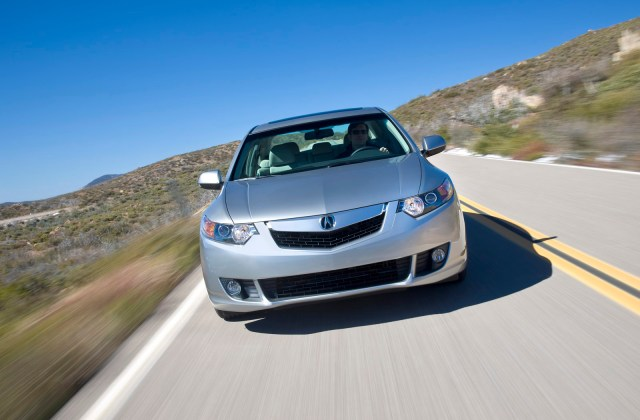 Acura Tsx Receives Top Safety Rating In Nhtsa And Iihs 2009 - Medium