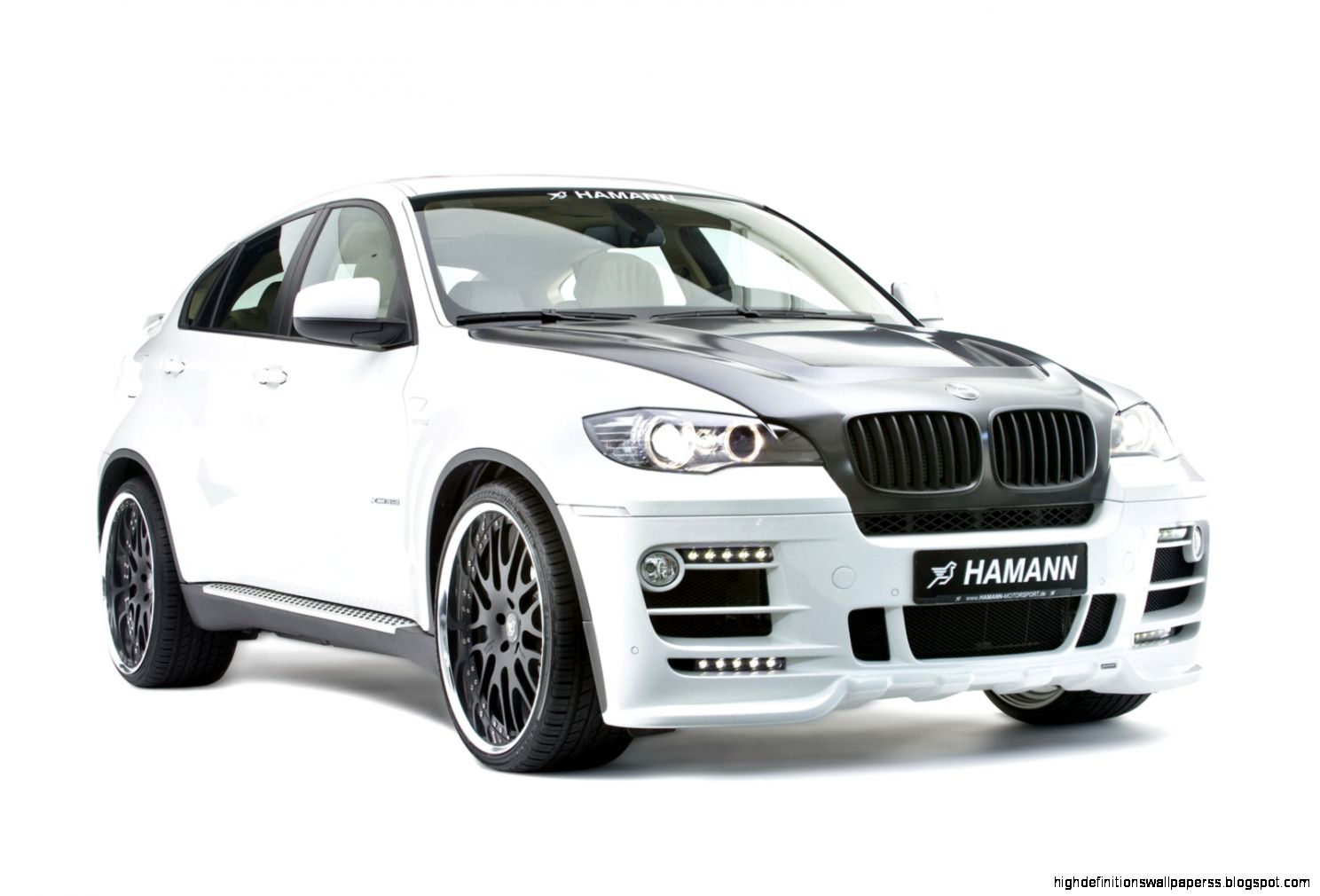 Bmw X6 Modified White Wallpapers Hd High Definitions Wallpaper - Medium