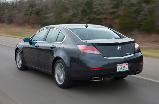 2014 Acura Tl Reviews And Rating Motortrend Coupe - Medium