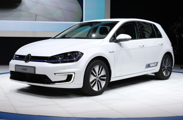 New Electric Vw E Golf Launches In Wake Of Emissions Scandal Volkswagen