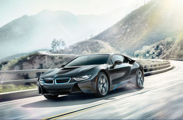 2018 bmw i8 a luxury plug in hybrid coupe with modern safety features - medium