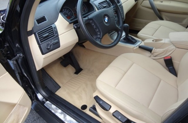 Sand Beige Interior 2005 Bmw X3 2 5i Photo 80828998 - Medium