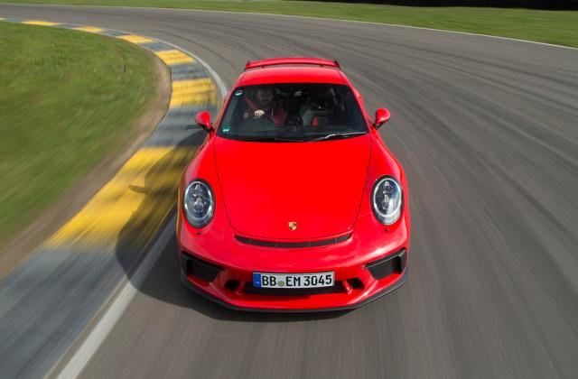 Porsche 911 Gt3 Review 2019 Autocar Inside View - Medium