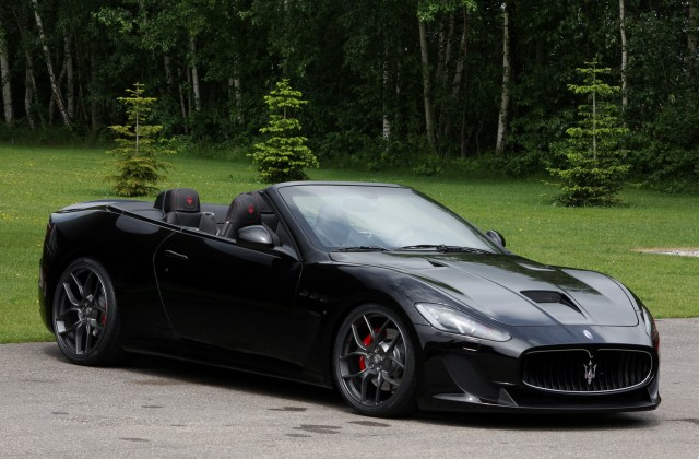 2013 Maserati Grancabrio Mc By Novitec Top Speed Sport - Medium