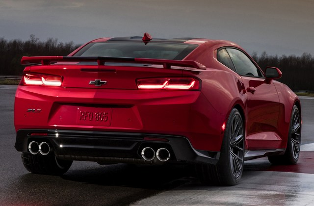2017 Chevrolet Camaro Zl1 Wallpapers And Hd Images Car Photo - Medium