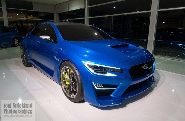 Subaru Wrx Concept Australia Performance Roadshow - Medium