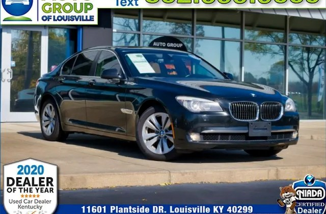used 2011 bmw 7 series 740i for sale in louisville ky 40299 photos - medium