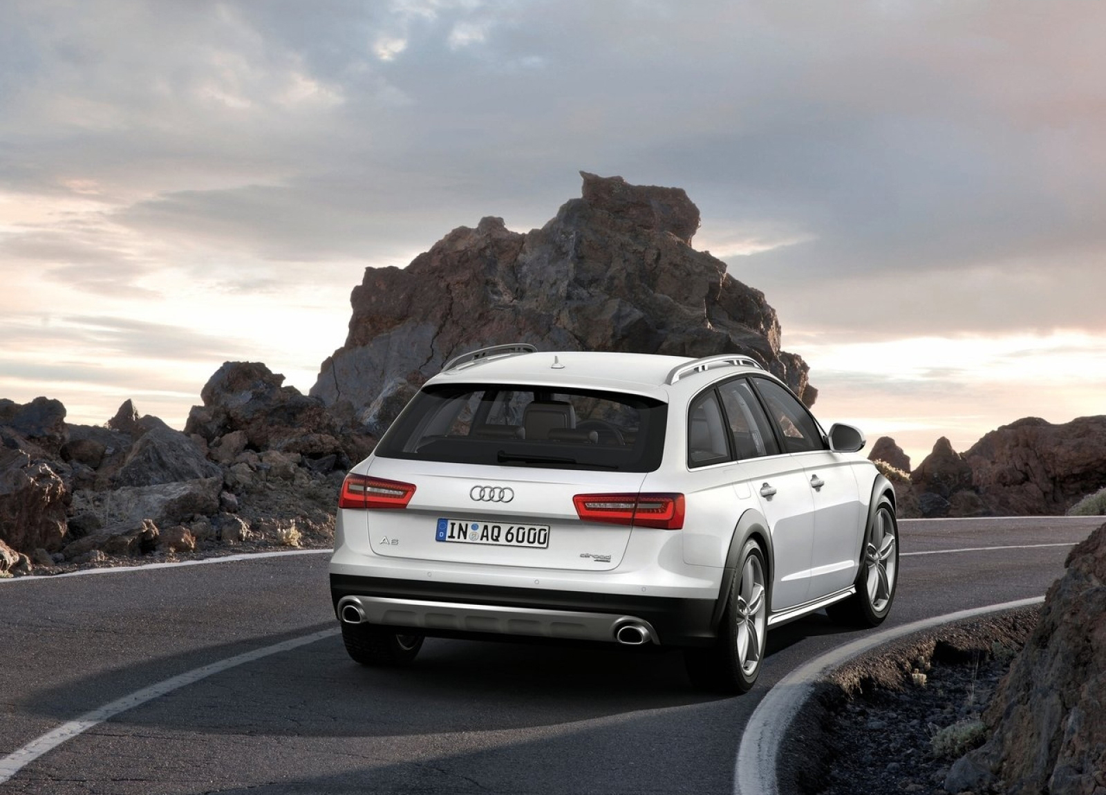 Audi A6 Allroad Hd Wallpapers The World Of Free Wallpaper - Medium
