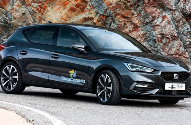 seat leon aut info for car hire in canary islands cicar - medium