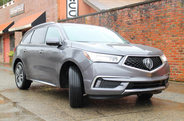 2017 Acura Mdx Sport Hybrid Sh Awd First Drive Review Of Seattle - Medium
