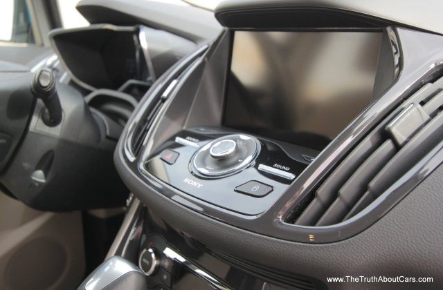 2013 ford c max energi plug in hybrid interior infotainment picture courtesy of alex l dykes and - medium