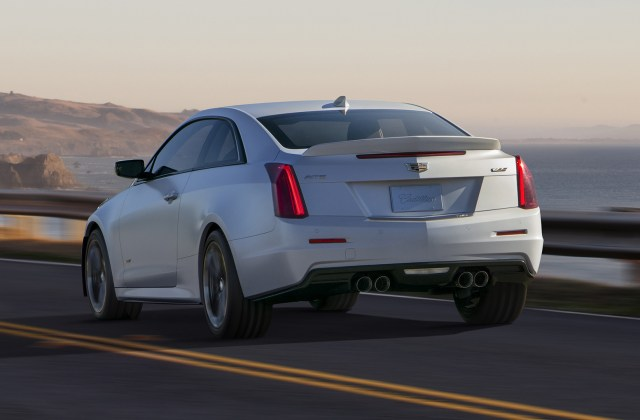 2016 Cadillac Ats V Coupe Wallpapers And Hd Images Car Pixel - Medium